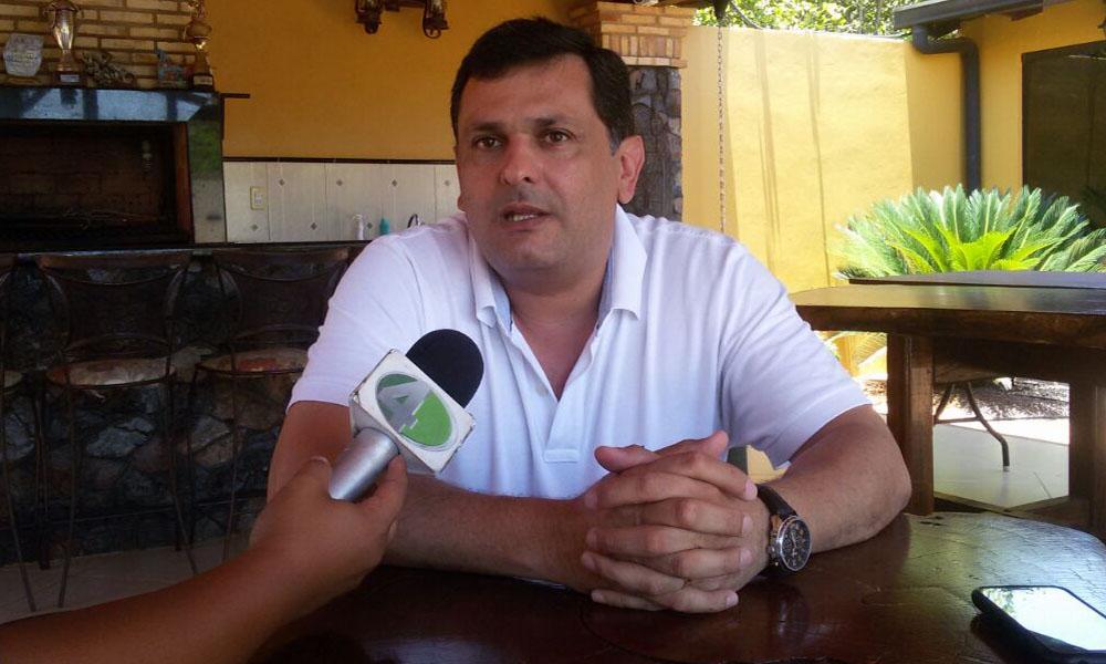Edgar Olmedo Silva, ex intendente municipal de Coronel Oviedo y actual concejal por la ANR. Foto://OviedoPress