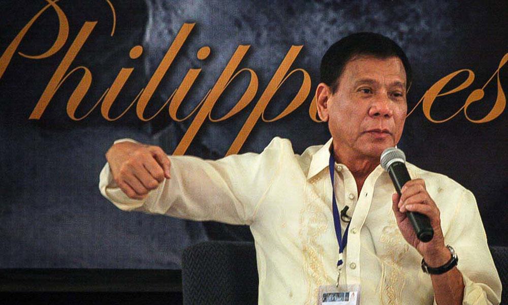 Presidente de Filipinas, Rodrigo Duterte. //blogspot.com
