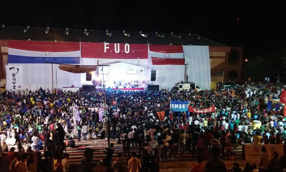 Foto Archivo. Juegos Universitario FUO 2015. //Facebook - FUO