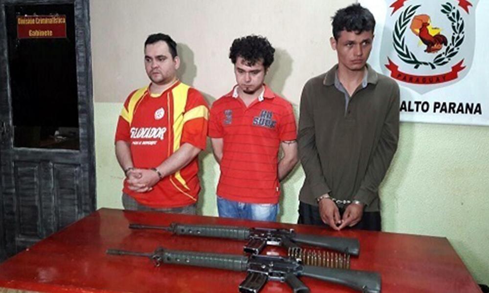 Tres sospechos imputados por la Fiscalía Foto://Paraguay.com.py