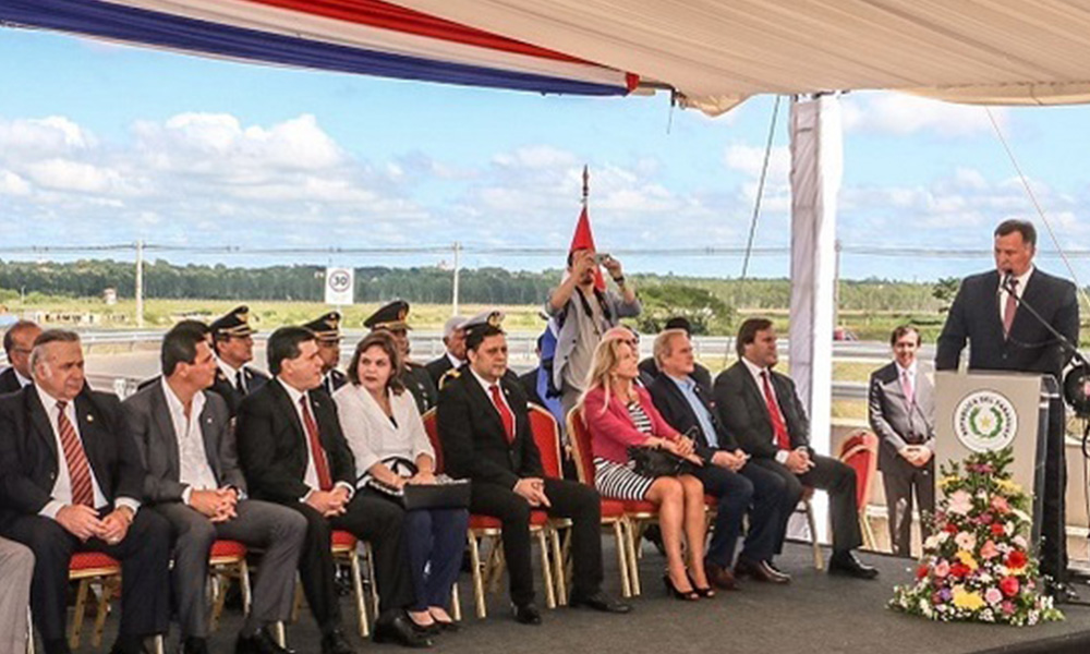 Discurso de Jiménez Gaona. Foto://Presidencia.