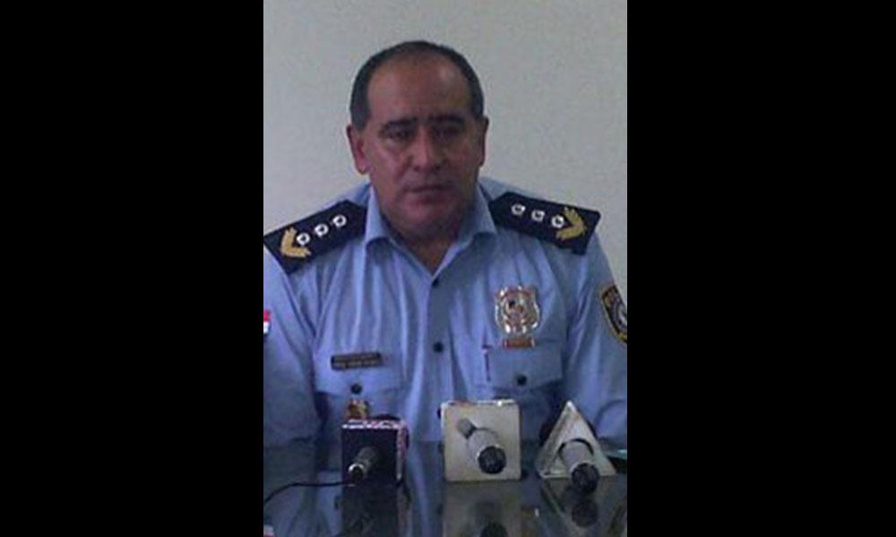Comisario Princiapl MCP Semión Servián Delvalle. Foto://Archivo-OviedoPress