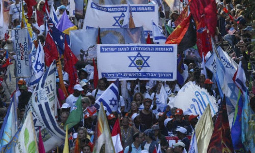 Evangélicos del mundo muestran su apoyo a Israel en la Marcha de Jerusalén