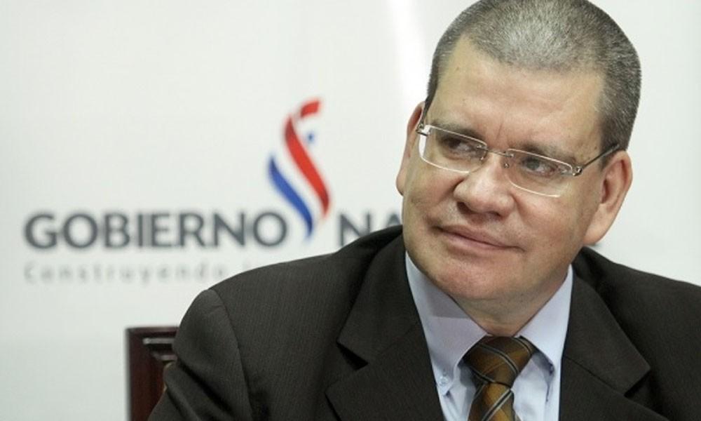 El ministro de Salud, Antonio Barrios. //ip.gov.py.