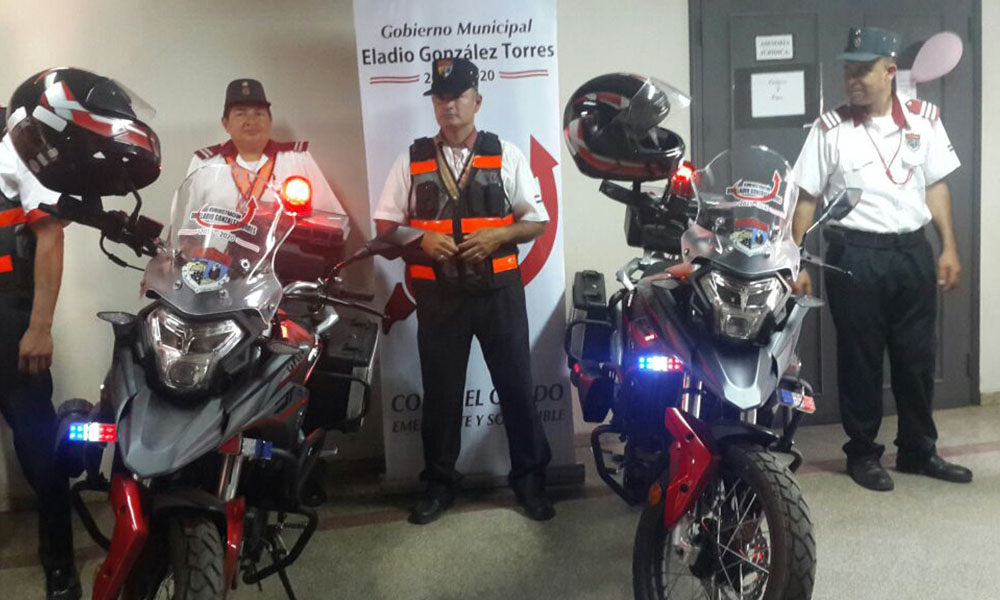 Las modernas motopatrullas. las cuales cuentan con un motor de 200 cc. //OviedoPress