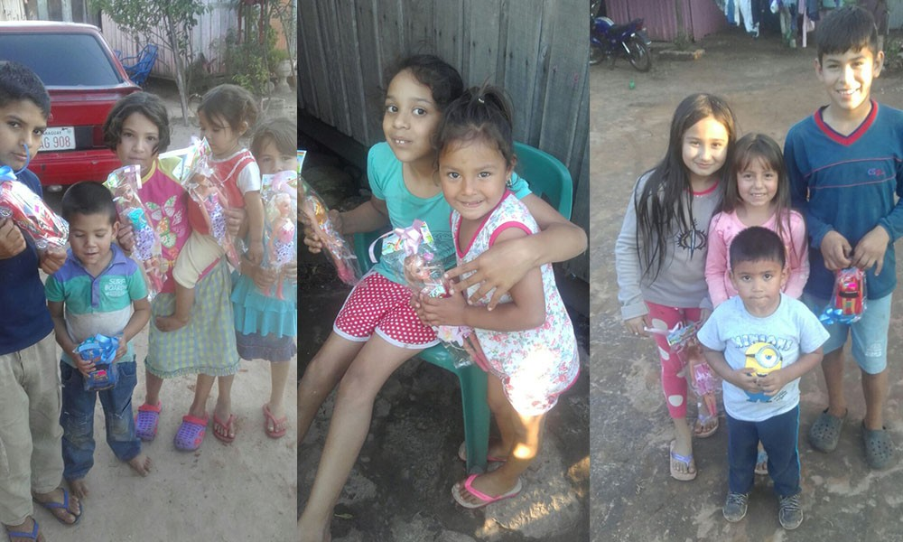 Niños del Territorio Social Juan Latín recibieron juguetes por su día