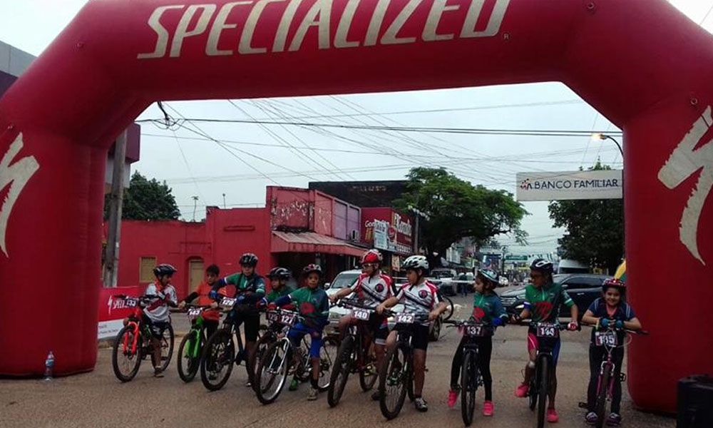 Foto Archivo. Copa Caaguazú MTB 2016. //Facebook - Ajos Cycling