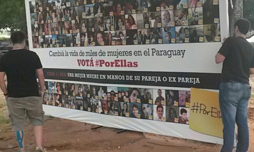 #PorEllas. //launion.com.py