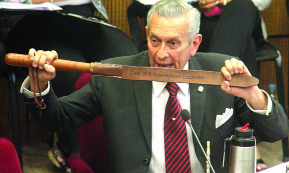 El senador del partido Unace, Juan Manuel bóbeda. Foto://Archivo - Ultimahora.com