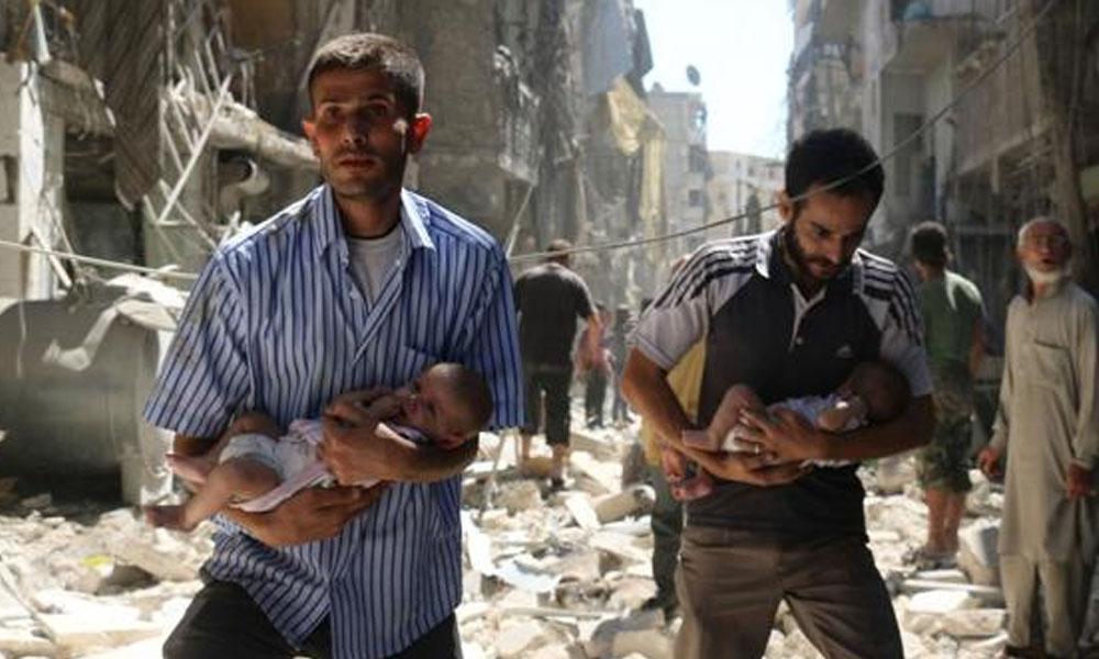 Según el Observatorio Sirio, 92 civiles murieron durante el alto al fuego. //AFP