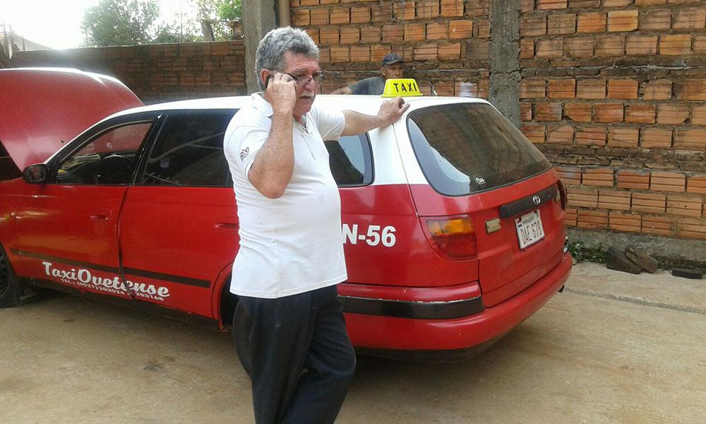 El presidente de la Asociación de Taxistas Ovetenses, Antonio Díaz de Vivar. //OviedoPress