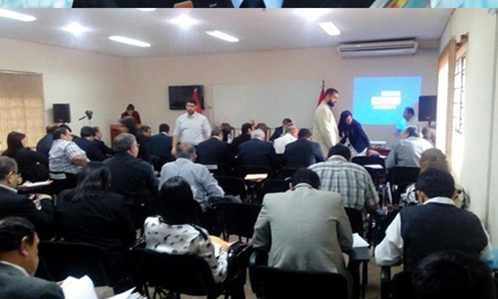Asamblea Universitaria. Foto://Paraguay.com.py.