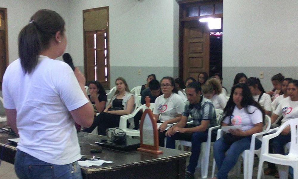 Foto Archivo. Reunión de en VICAJEMA en la ciudad de Luque. //Facebook - VICAJEMA Luque