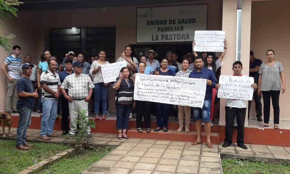En La Pastora exigen médicos ante precariedad de salud