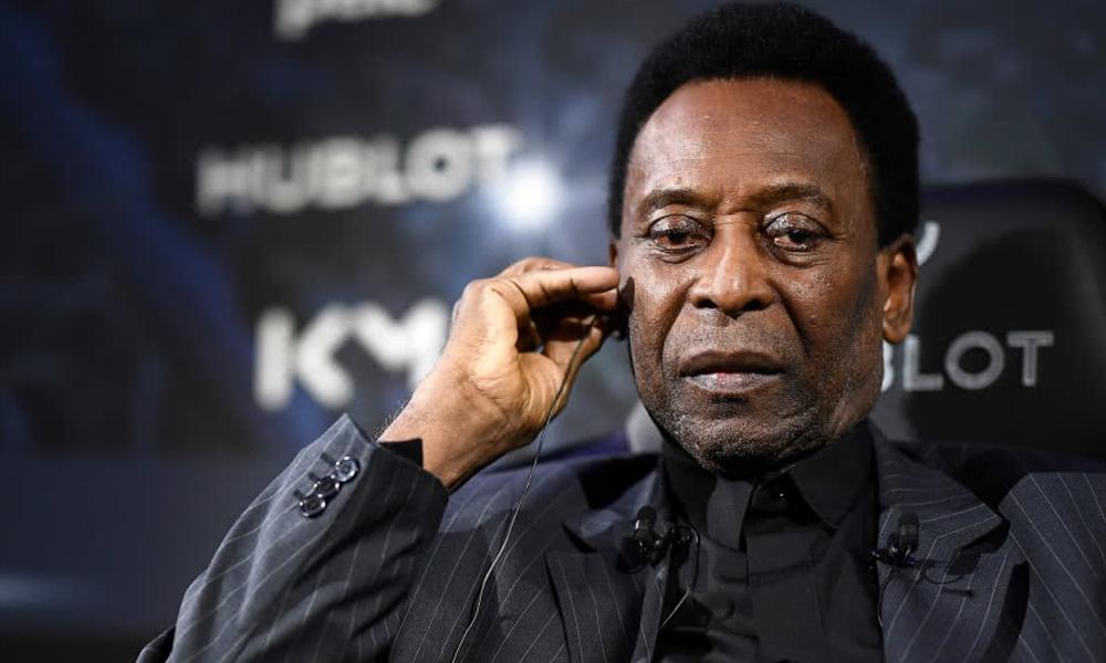 Pelé, hospitalizado en París tras participar de un evento publicitario con Mbappé