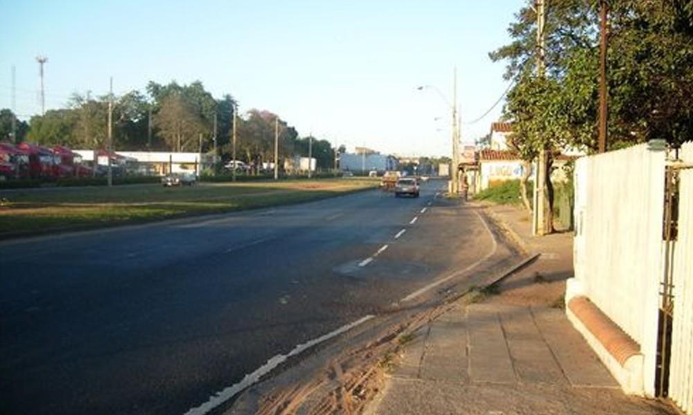 Foto ilustrativa, Avenida defensores del chaco. //py.geoview.info