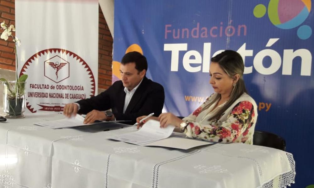 Odontología UNCA y Teletón promueven salud bucodental en niños con discapacidad