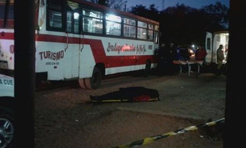 La víctima es un chofer de la línea 10, un bus interno que hace el trayecto Limpio-Luque.