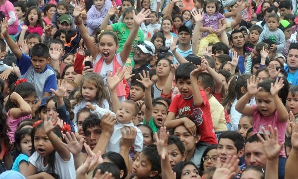 Asunción festeja el día del niño