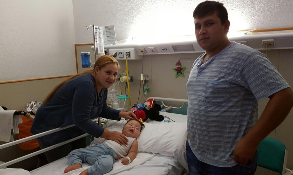 El niño padecía Síndrome de Menkes. Foto://OviedoPress