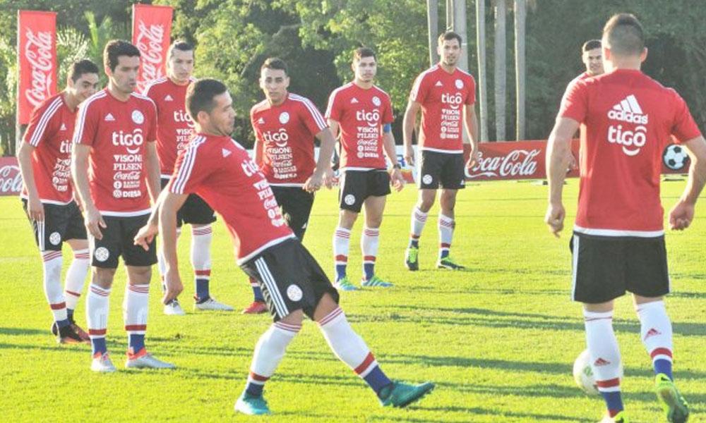 La Selección Nacional cerró ayer con mucho optimismo sus aprestos en Ypané pensando solo en la victoria. //UltimaHora.com