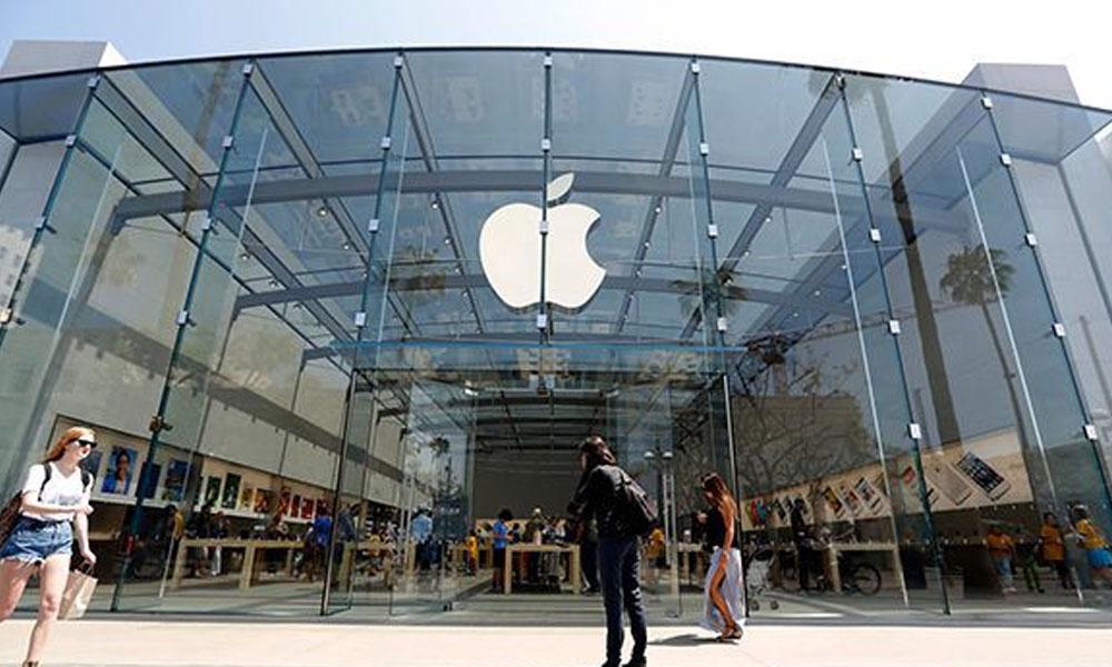 Apple podría presentar un iPhone que se puede doblar por la mitad. //Apple