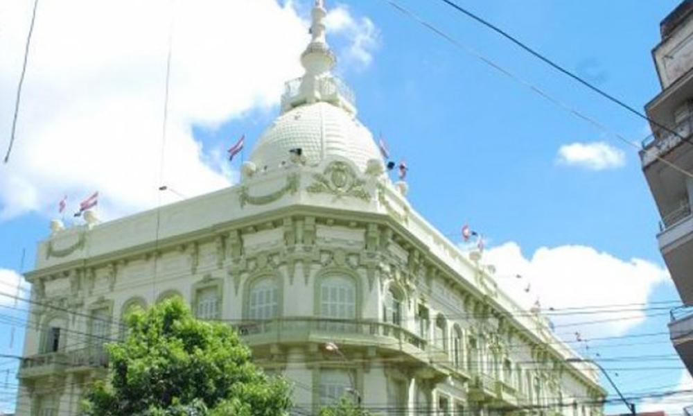 Fachada del Ministerio de Hacienda Foto://Ultimahora.com