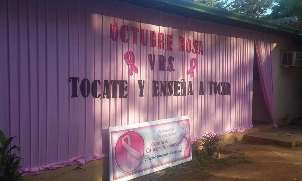 Marcharán en favor de lucha contra cáncer de mama en Coronel Oviedo