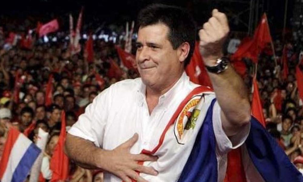 Levantan orden de detención contra Horacio Cartes