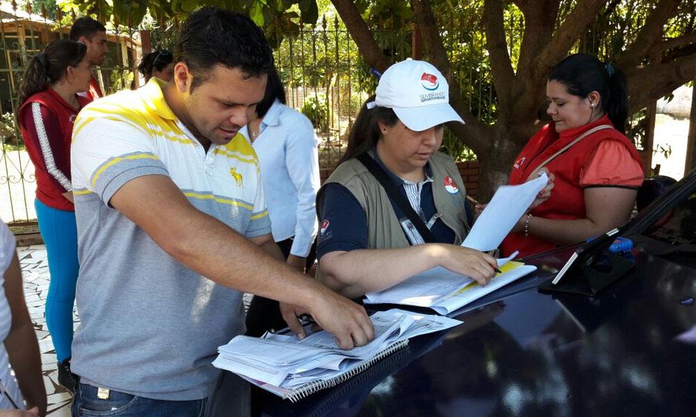 Foto Ilustarcion. El censo en Coronel Oviedo se realizará el próximo martes 1 de noviembre. //Facebook