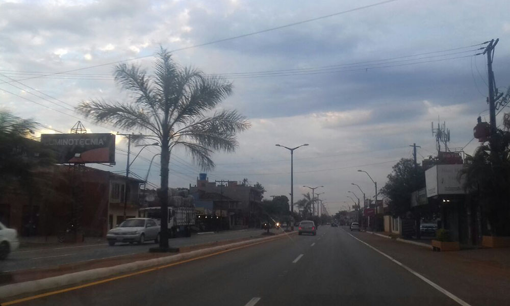 Clima: Martes caluroso y con precipitaciones para Coronel Oviedo