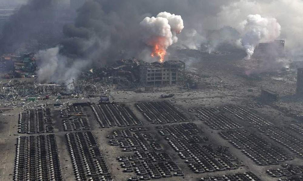China: Aumenta a 22 los muertos por explosión en central eléctrica