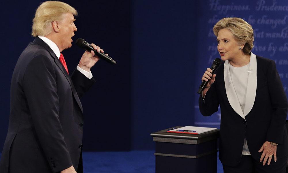 Hillary Clinton y Donlad Trump. //medianetwork.com