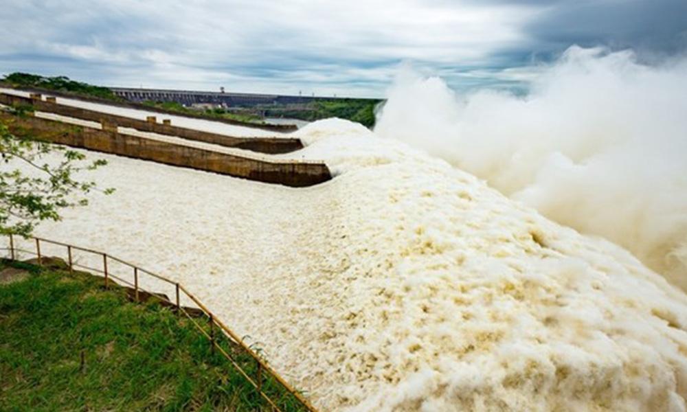 Hidroeléctrica de Itaipú,. Foto://EFE