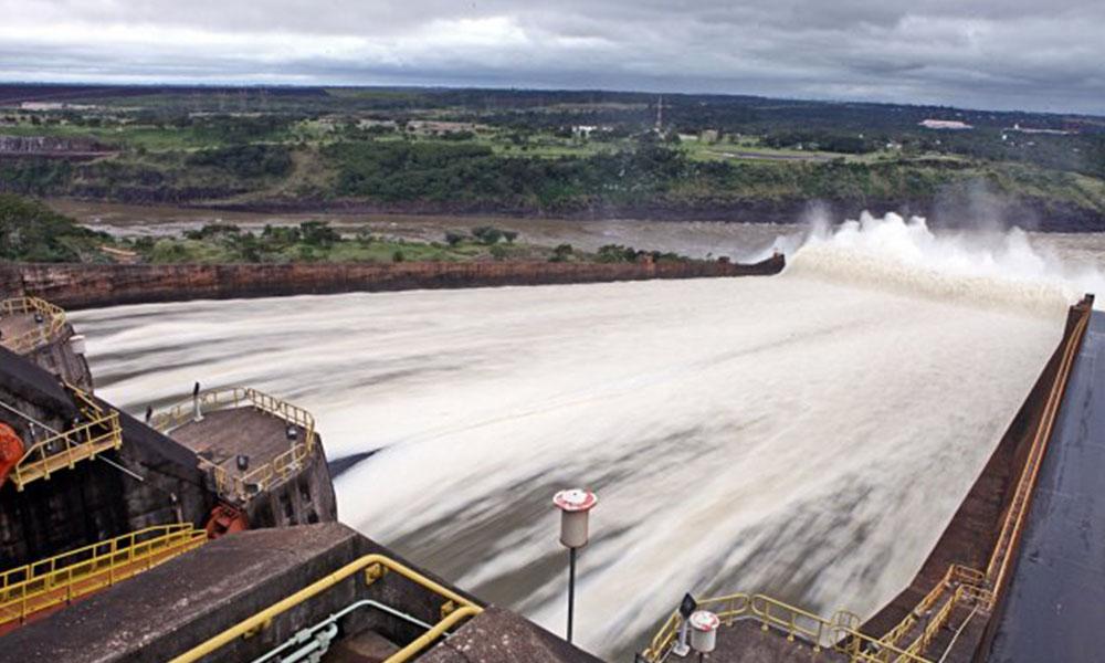 La hidroeléctrica Itaipú Foto://Archivo.