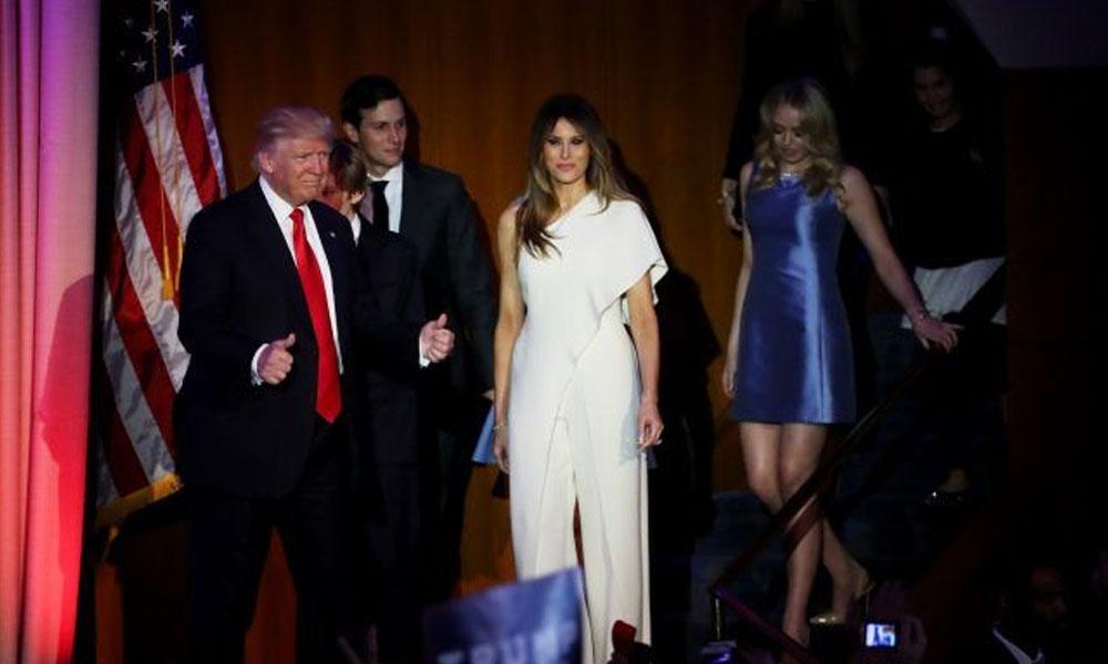 Melania Trump, (c) la exmodelo eslovena que se convirtió en la nueva primera dama de EE.UU. //s.yimg.com