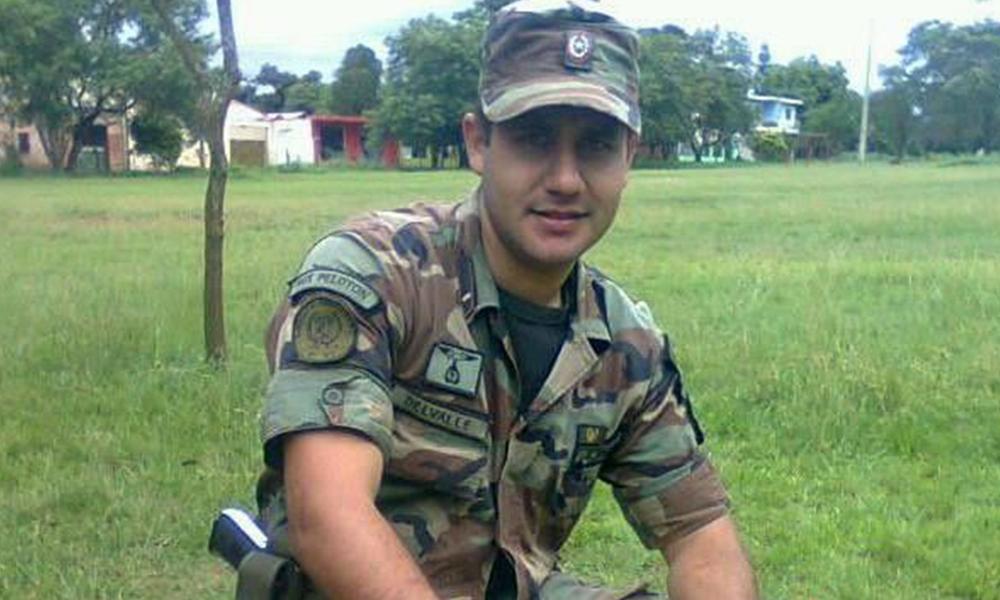 Marcelino Delvalle Cantero, detenido por la Policía. Foto: Abc.com.py.