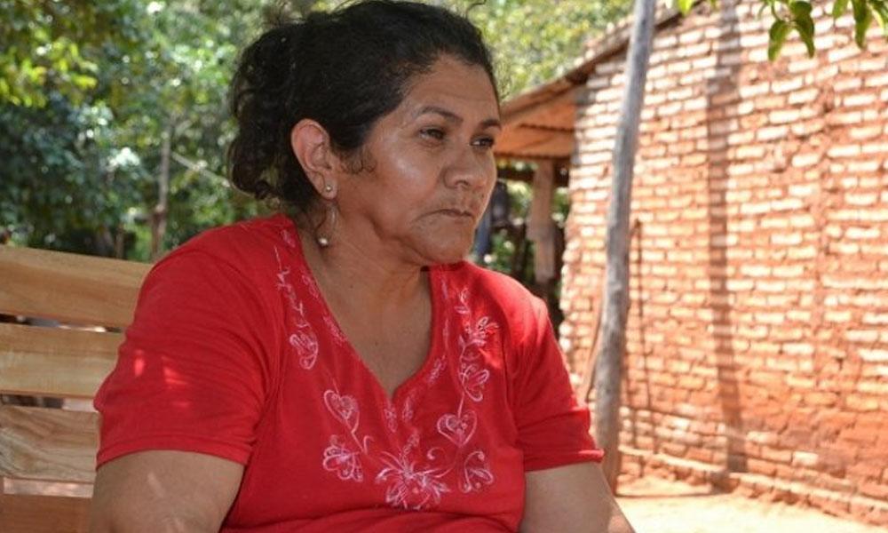 Obdulia Florenciano, madre del suboficial Edelio Morínigo. //ultimahora.com