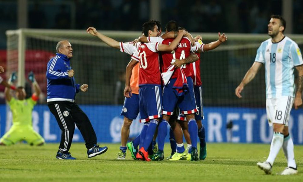 Paraguay derrotó a Argentina en Córdoba. //UltimaHora