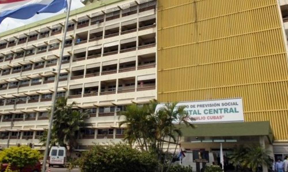 Fachada del Hospital Central del IPS. Foto://Ultimahora.com