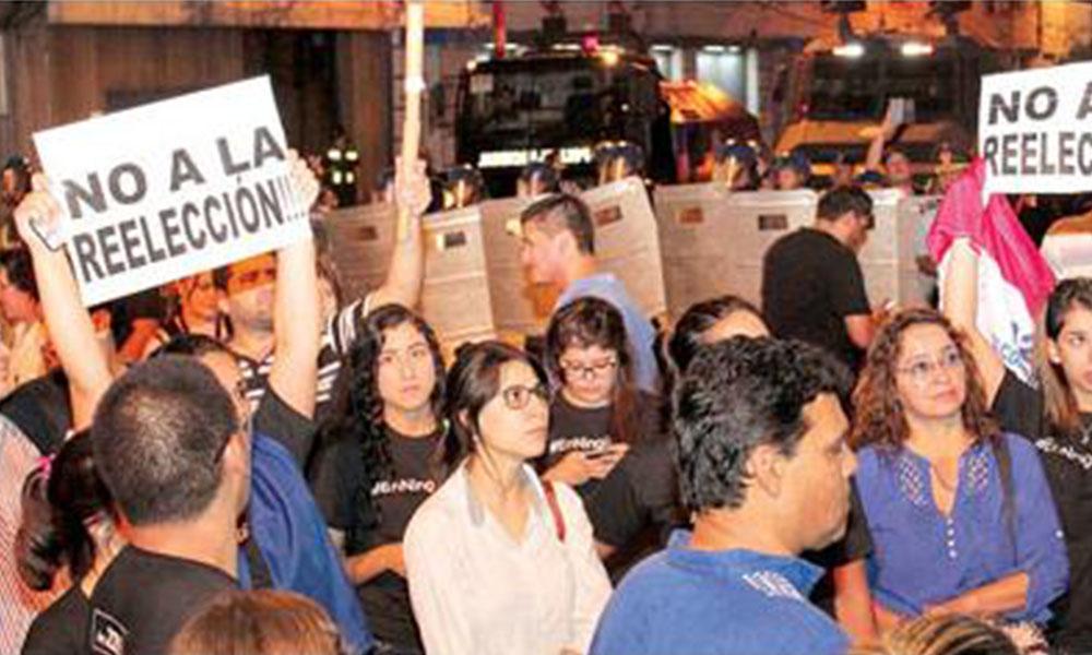 Asociaciones unirán fuerzas para protestar en contra  de la reelección. Foto://Ultimahora.com