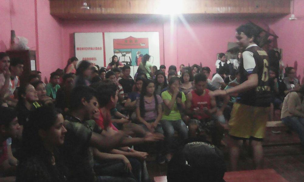 Primera convocatoria de voluntarios llevado a cabo en la Casa de la Cultura. //Gentileza