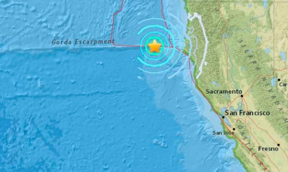 Un terremoto de magnitud 5,6 sacude las costas de California (EE.UU). //Globovision.com