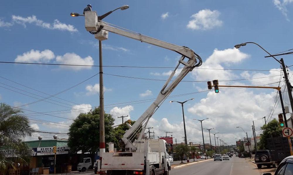 ANDE anuncia nueve horas de corte de energía para Coronel Oviedo