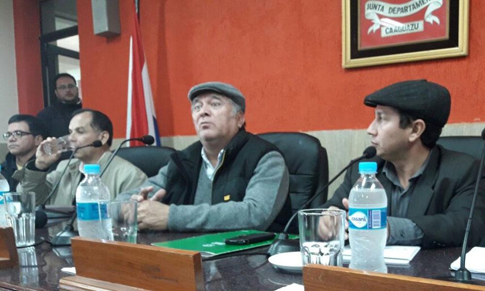 Plantean juramento de nuevas autoridades en Coronel Oviedo y Caaguazú
