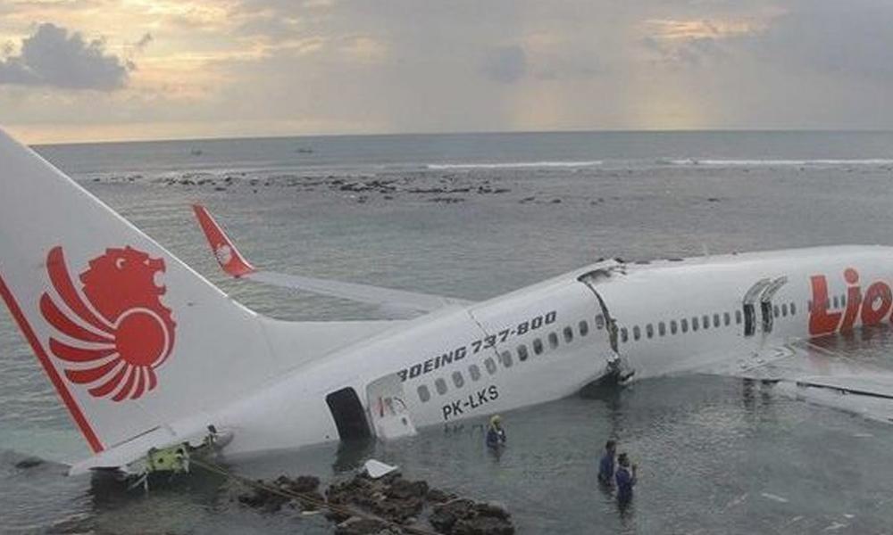 Un avión de Lion Air se estrella con 188 ocupantes en el mar de Java