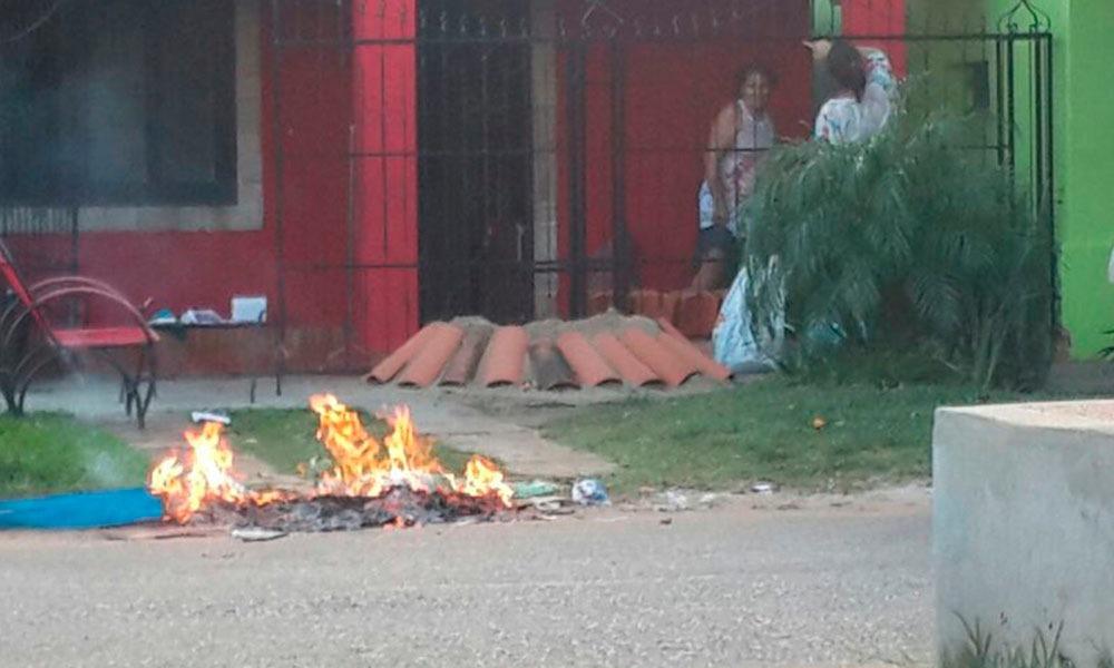 Persiste quema de basuras en pleno centro de Coronel Oviedo
