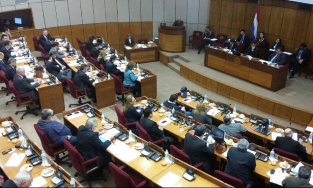 La Cámara de Senadores.