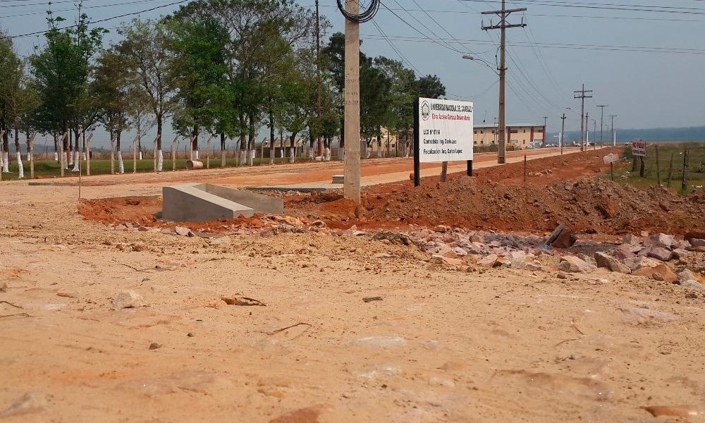 MOPC asfaltará acceso al campus de la UNCA