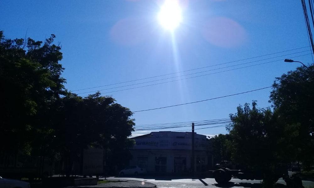 Meteorología anuncia lunes extremadamente caluroso en Coronel Oviedo